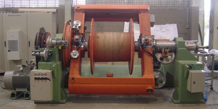Sampsistemi and Cortinovis do Brasil single twist machines
